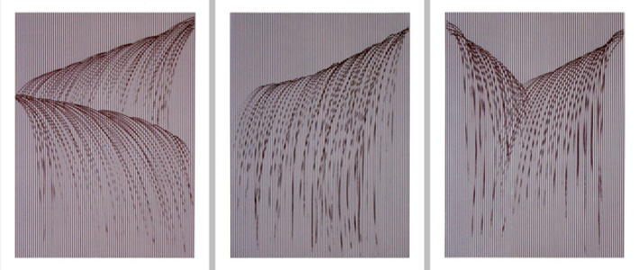 Waterfall I, II, III