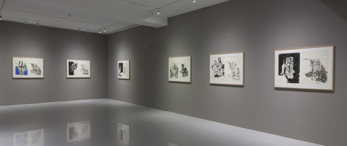 Georg Baselitz: Visit from Hokusai