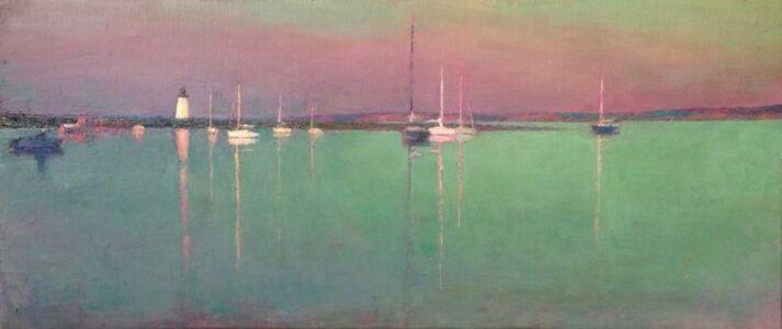 Edgartown Harbor Evening