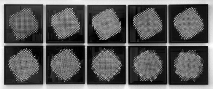 Ten Pinhole Structures series D, D 3.1–3.9