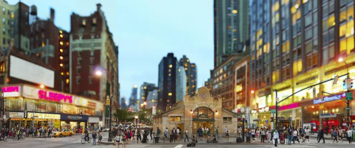 72nd Street, Manhattan, 2012