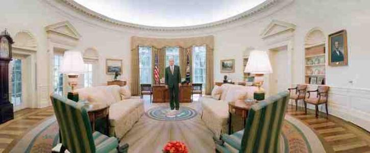 USA, Washington, George W. Bush, White House.