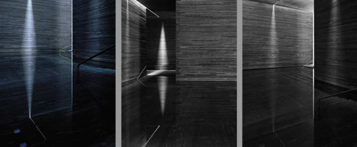 Therme Vals Triptychon (Architecture by Peter Zumthor)