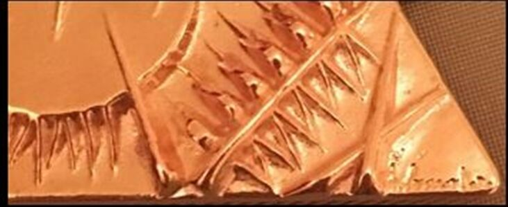 Untitled Bronze Pendant