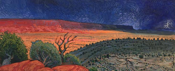 Storm Over the Vermillion Cliffs