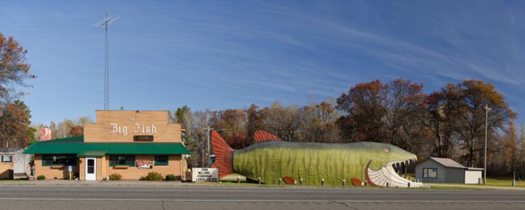 Big Fish Supper Club; Bena, Minnesota