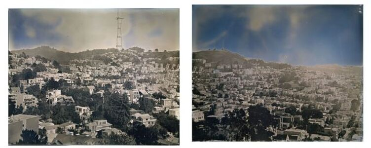 Panoramic View from Corona Heights Park