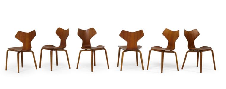 Six Grand Prix chairs
