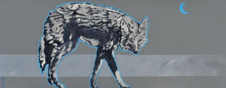"""""""Electric Moon Coyote"""""""