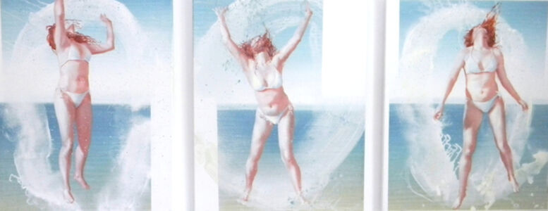 Woman on the Beach, Triptych