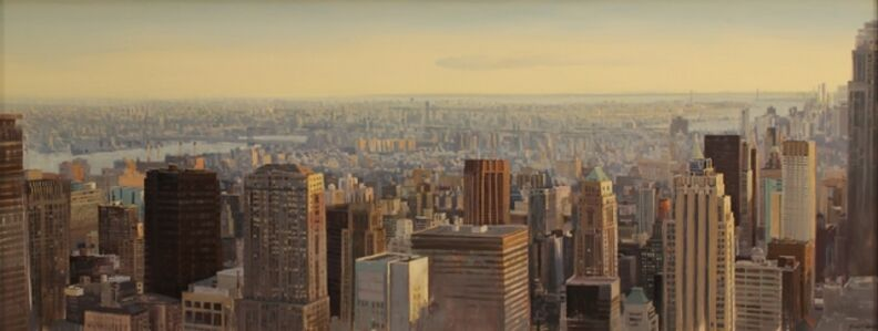 """The City at Dusk, New York City"""