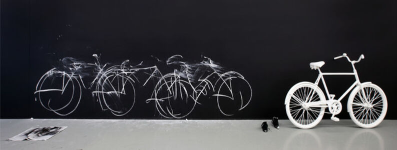 Chalk Bicycle