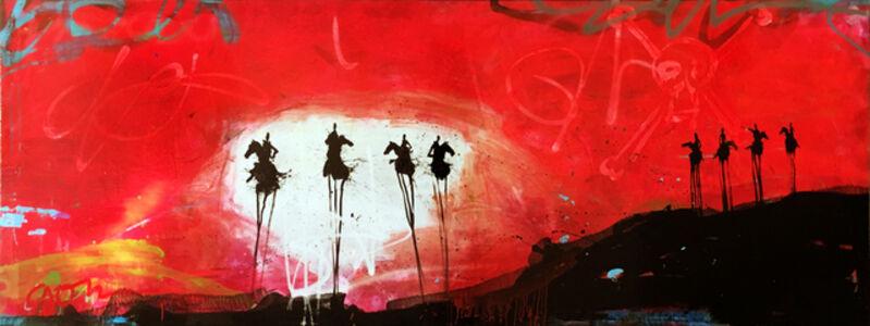 Horsemen on the Lookout