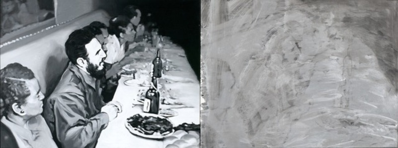La última cena, díptico II [The Last Supper, diptych II]