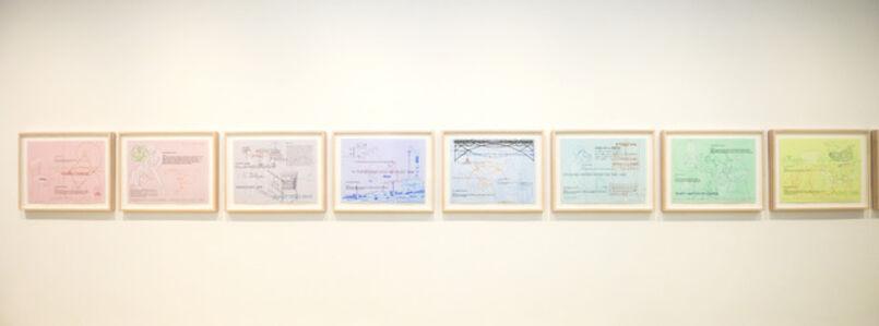 Wu Shanzhuan & Inga Svala Thorsdottir: The Printer/The Paper/The Layer/The Thing's Right(s)/The Little Fat Flesh