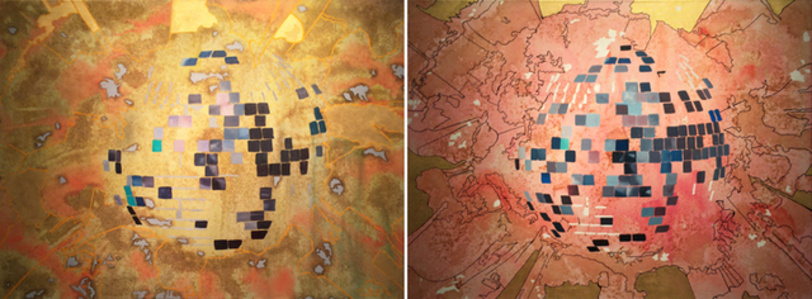 Boom Tomb (Diptych)