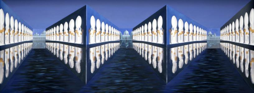 Moonlit Colonnades