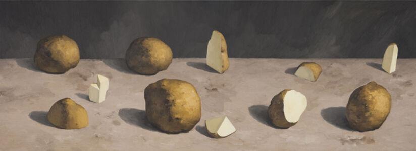 Cutting Potatoes No.5