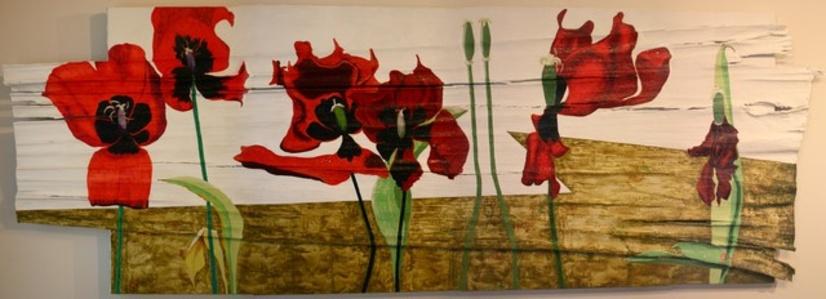 Tulips Dying and Crying III