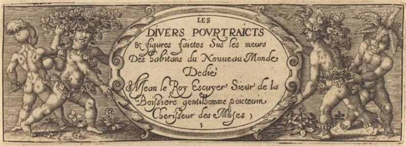 Les divers pourtraicts et figures I (Title Page)