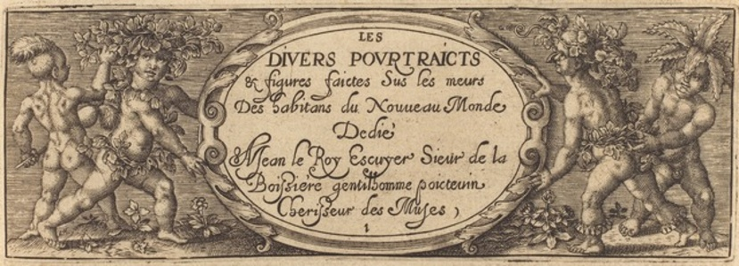 Les divers pourtraicts et figures I (Title Page)