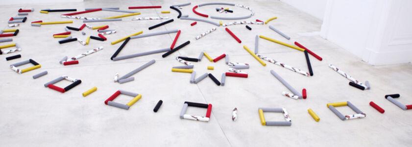 An indelicate arrangment: A high entropy rug for Ludwig Boltzmann