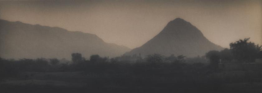 View from the bridge Pushkar, Rajasthan, India