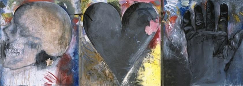 Untitled (Skull, Heart, Glove)