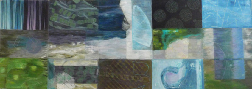 Sum of Parts (Triptych) Panel One - 'Oxygen'
