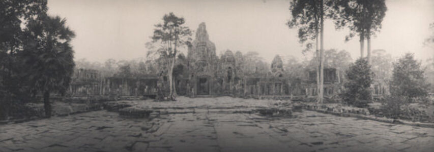 Faces of Avalokiteshvara, the Bayon, Angkor, Siem Reap, Cambodia