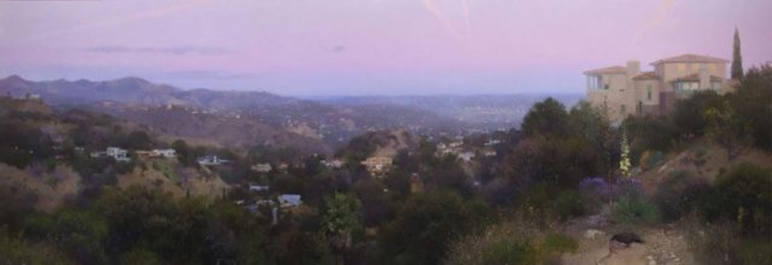 Evening, Hollywood Hills