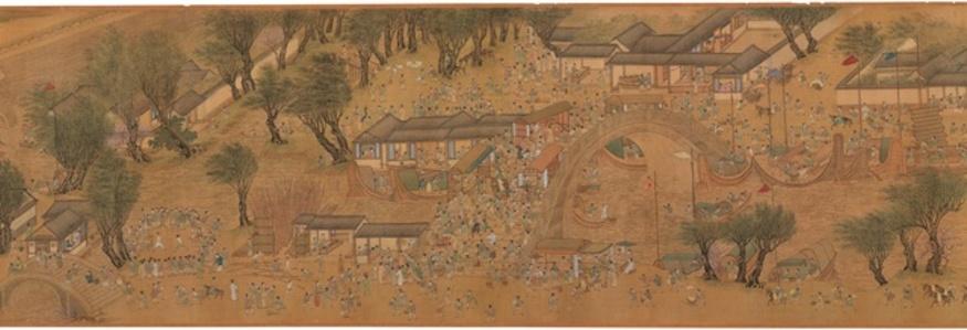 청명상하도 清明上河圖 (Along the River During the Qingming Festival)
