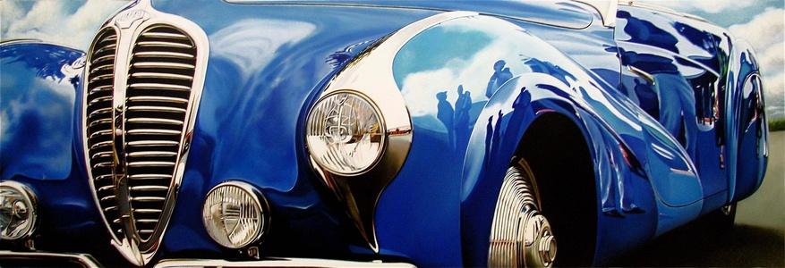 Blue Delahaye