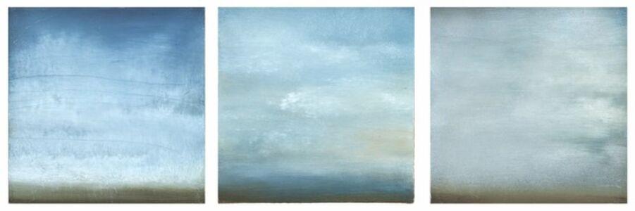 Summer Clouds-Triptych