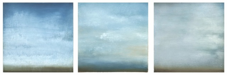 Summer Clouds-Triptych