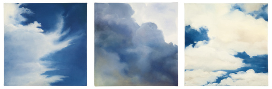 Cloud triptych