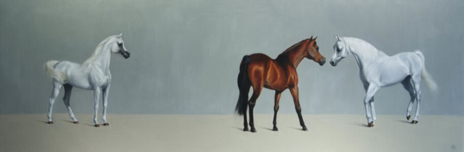6. Arabian Mare and Stallions