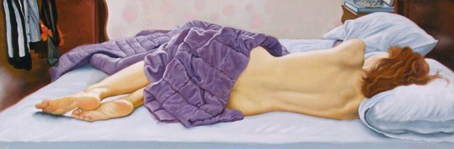 Fanny Sleeping Backview