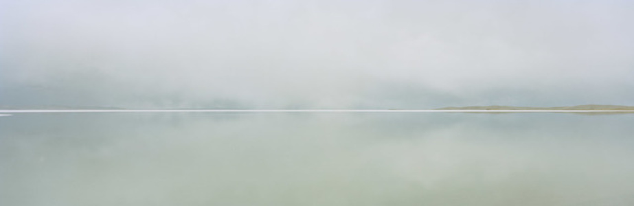 Ngoring Lake. Sanjiangyuan National Nature Reserve, Qinghai, China.