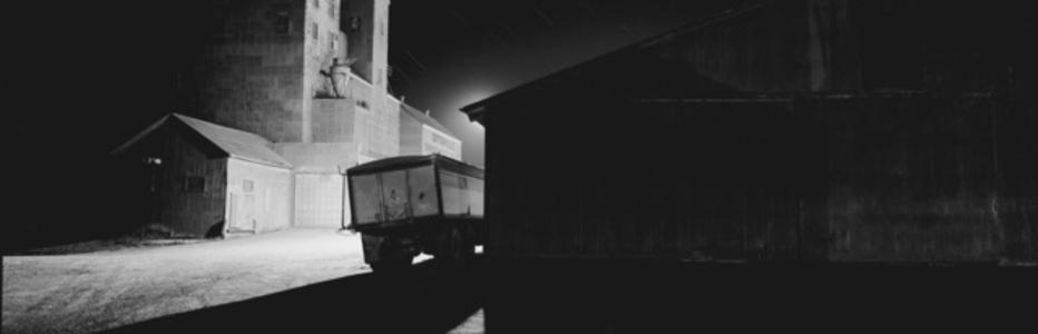 Parked Truck, Ortonville Co-op, Ortonville, Minnesota