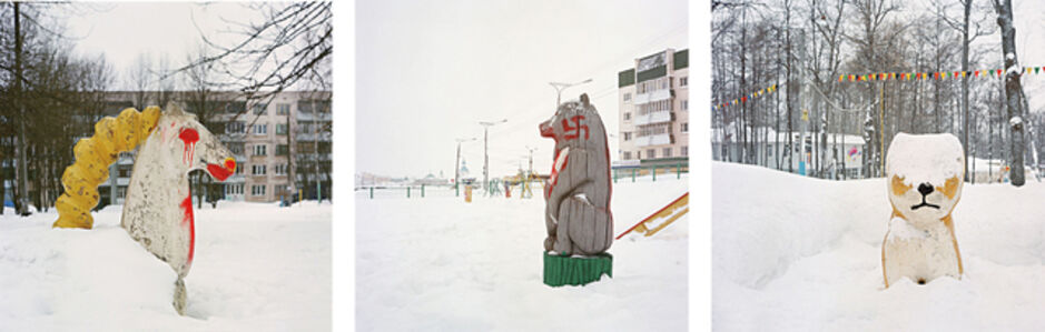 Three works in One Lot: Untitled (From the series Winter Life)