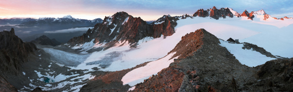 Glacier d'Orny, Switzerland