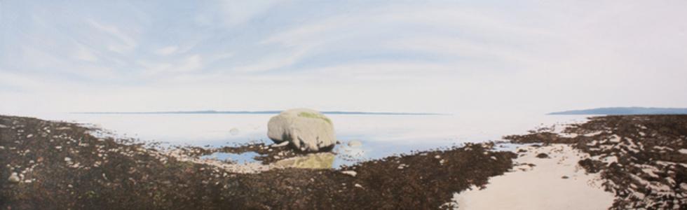 Marée montante (Isle-aux-Coudres, Qc)