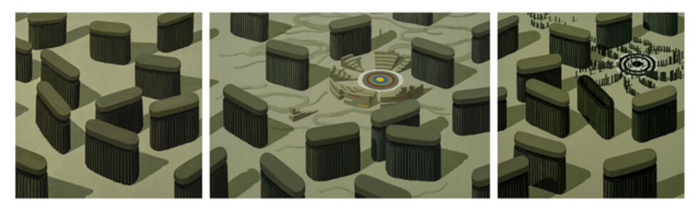Off Target (triptych)