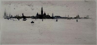 Joseph Pennell, 'Lagoon, Venice', 1883