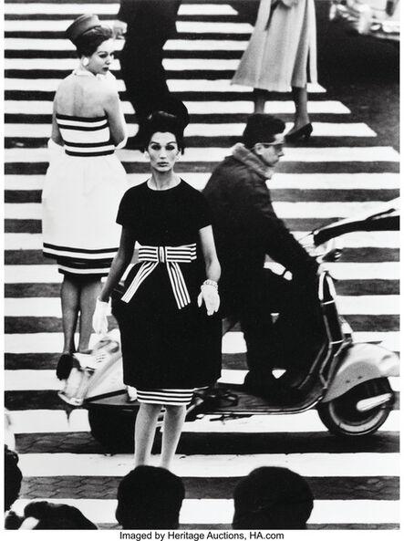 William Klein, 'Simone + Nina, Piazza di Spagna, Rome (Vogue)', 1960