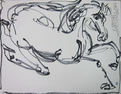 Wang Dalin, 'Galloping Horse', 2013