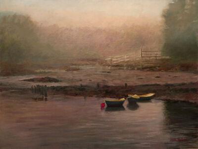 Jann Pollard, 'Dory Boats in the Fog', 2018