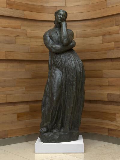 Emile-Antoine Bourdelle, 'Penelope Waiting', 1912