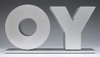 Deborah Kass, 'OY/YO (Unpainted / Silver)', 2013
